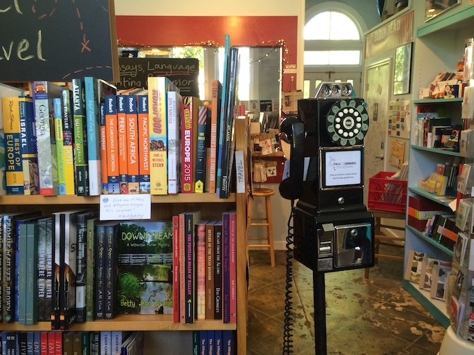 Our first BETA test was at Avid Bookshop in Athens, GA