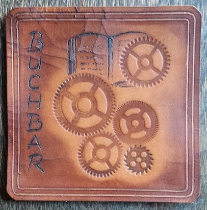 Branded Leather Coaster