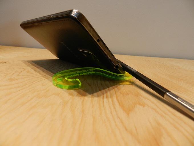 TheMiK in Limited Kickstarter Edition Fluorescent Green.