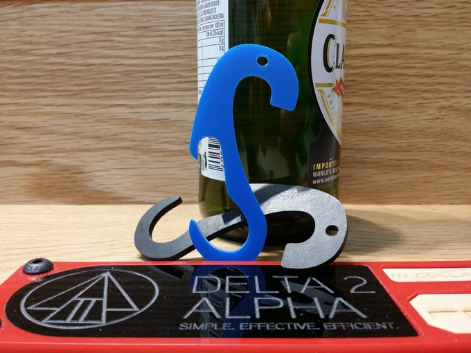 TheMiK MKII with a take-everywhere, emergency bottle opener.