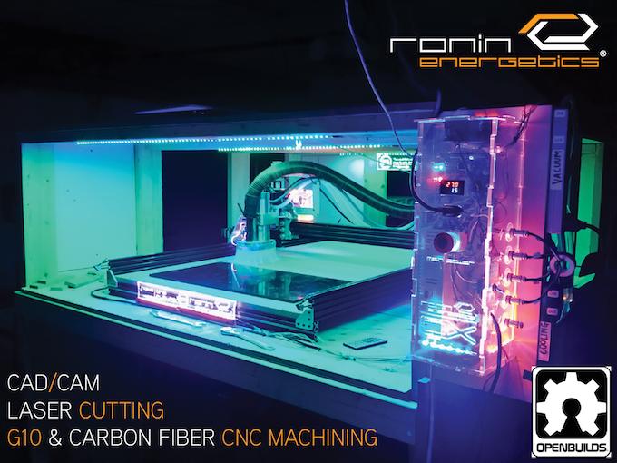 Ronin Energetics CNC machine.