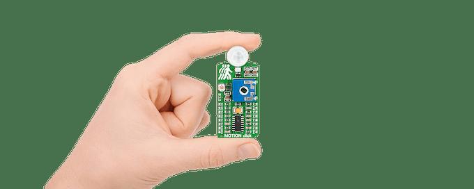 The MOTION Click sensor board