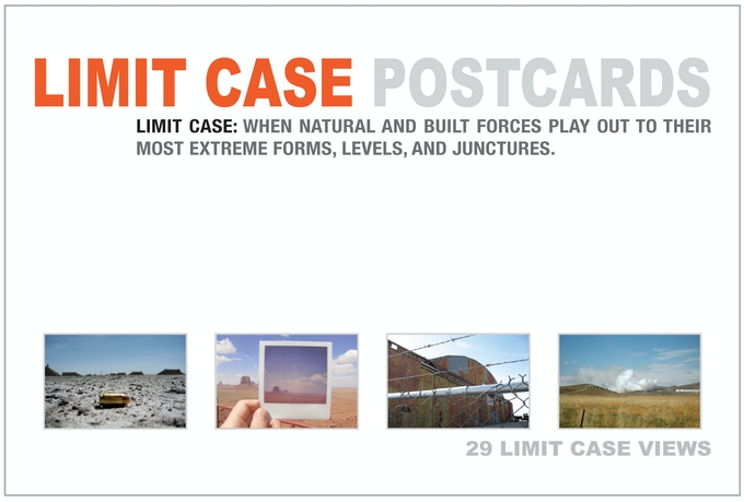 Limit Case postcard set, your reward for a $45 backing