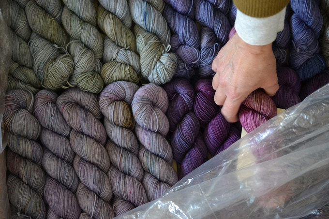 a lot more yarn!