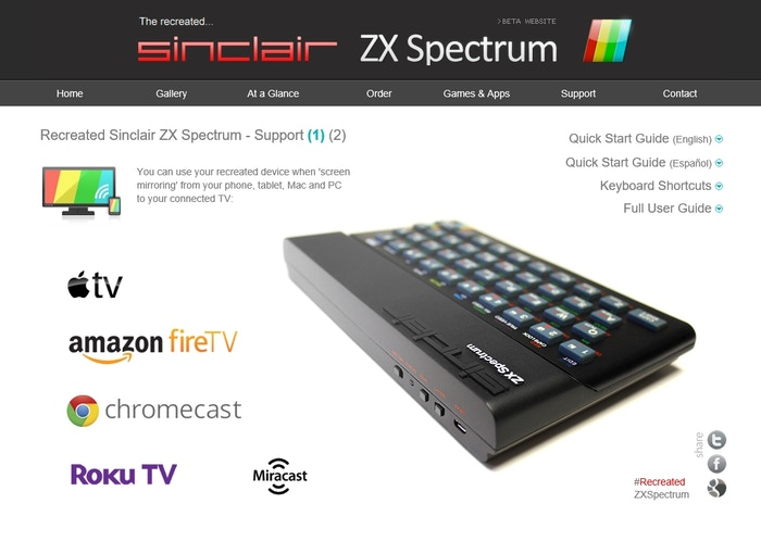 Bluetooth ZX Spectrum: Recreating the Sinclair ZX Spectrum