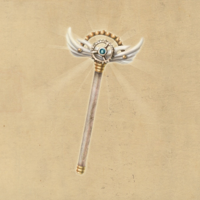 Winged Rod