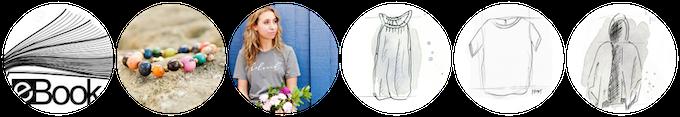 """My lean closet"" eBook + bracelet + (1) Limited edition Kickstarter tee, handmade by our beautiful artisans in Nepal + (3) Spring garments = $260"