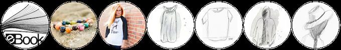 """My lean closet"" eBook + bracelet + (1) Limited edition Kickstarter tee, handmade by our beautiful artisans in Nepal + (4) Spring garments = $325"
