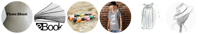 """Exclusive photo shoot + """"My lean closet"""" eBook + bracelet + (1) Limited edition Kickstarter tee, handmade by our beautiful artisans in Nepal + (2) Spring garments = $500"""