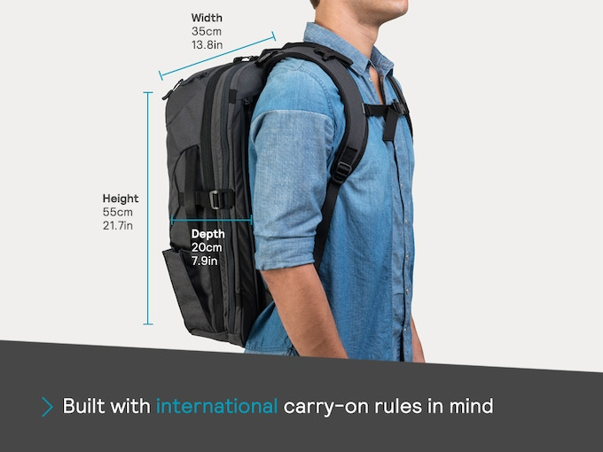 Many other bags focus only on US regulations, which is great – until you want to, um, be somewhere that isn't the US.
