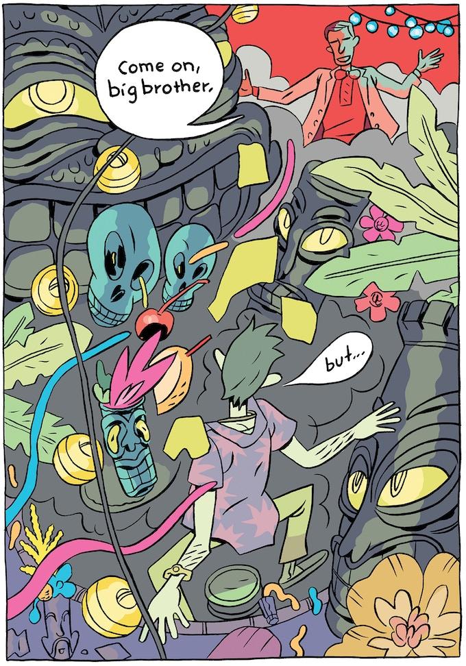 "Ben Passmore panel from ""Ghosts."""