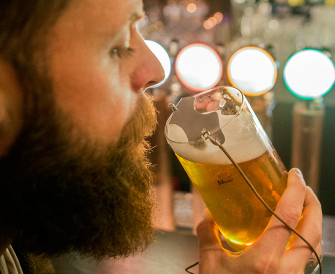 Treat yourself with a beer (or three). Your stache won't mind.