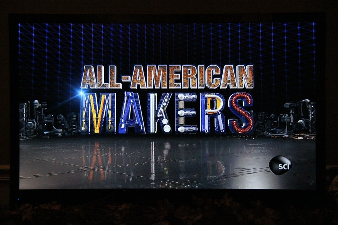 """Here is a video clip about the Velocity Grill on the """"All-American Makers"""" National TV Show! To watch this clip, click on this picture!"""