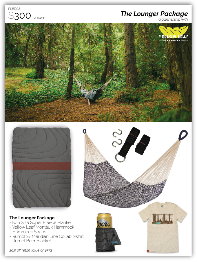 Big thanks for Yellow Leaf Hammocks for their support of The Lounger Package!