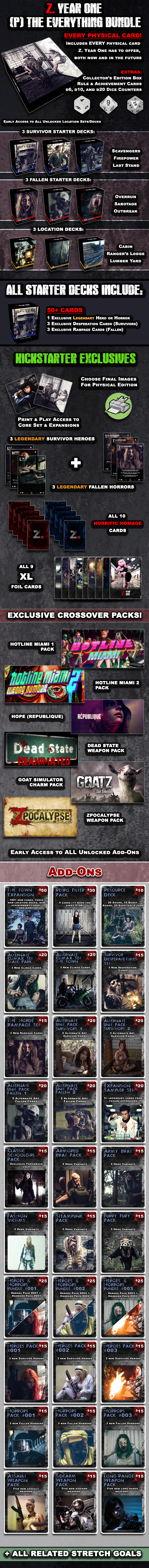 Add-ons available separately or included as part of The Everything Bundle!