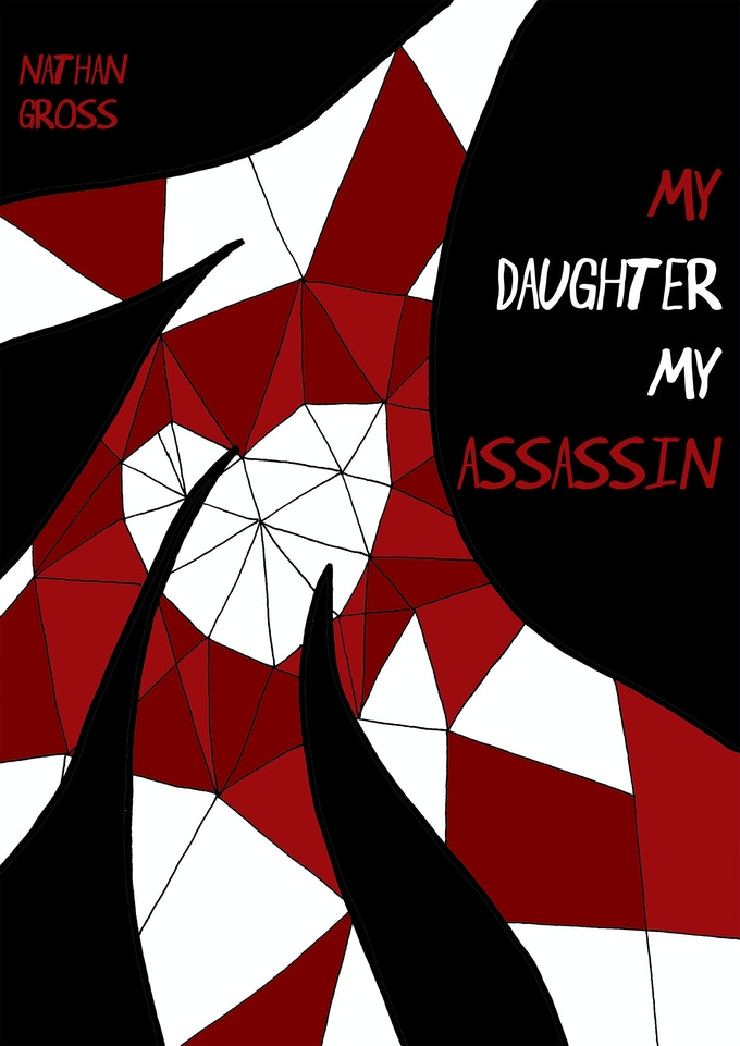 My Daughter, my Assassin front cover. (www.juliemathieu.net)