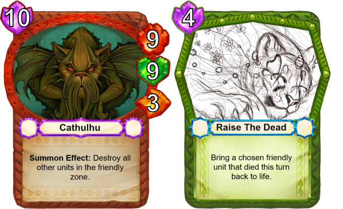 Wiping your own side of the board may seem like a desperate move, but don't underestimate its power! --- A partly decomposed tiger being resurrected by magical butterflies. Yes please!