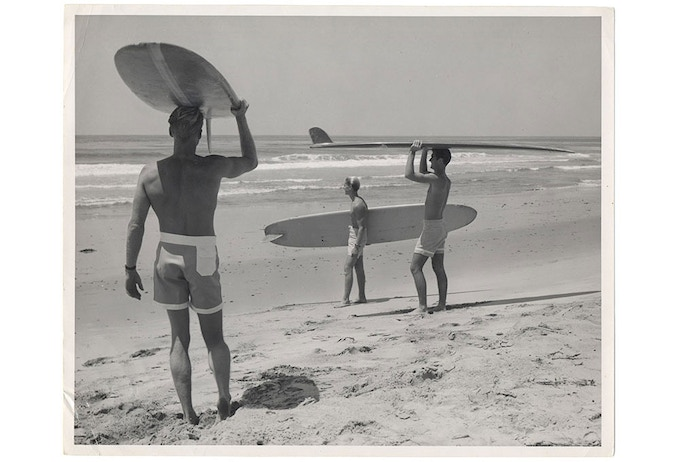 Bruce Brown's photograph taken at Salt Creek Beach,  Dana Point, CA that that was used for The Endless Summer film poster