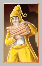 Here is a yellow movement card