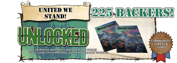 Free Quick Reference Sheets included with every Rulebook!