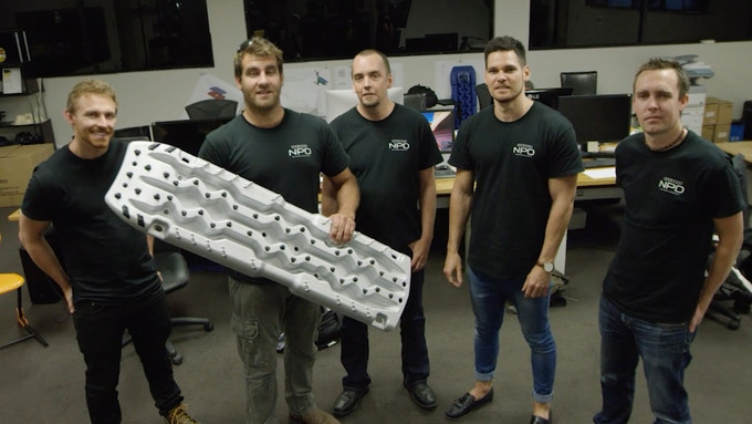 Evolve NPD Team: Mayer, Ty, Luke, Paul, Blair