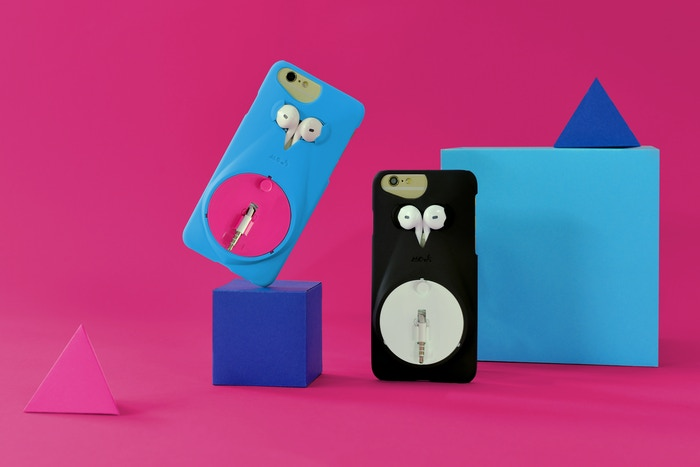 Never lose, misplace, tangle your headphones again with this sleek iPhone case that holds headphones.                         Available now at www.mous.co or ASOS & Urban Outfitters.