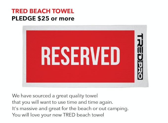 TRED PRO BEACH TOWEL