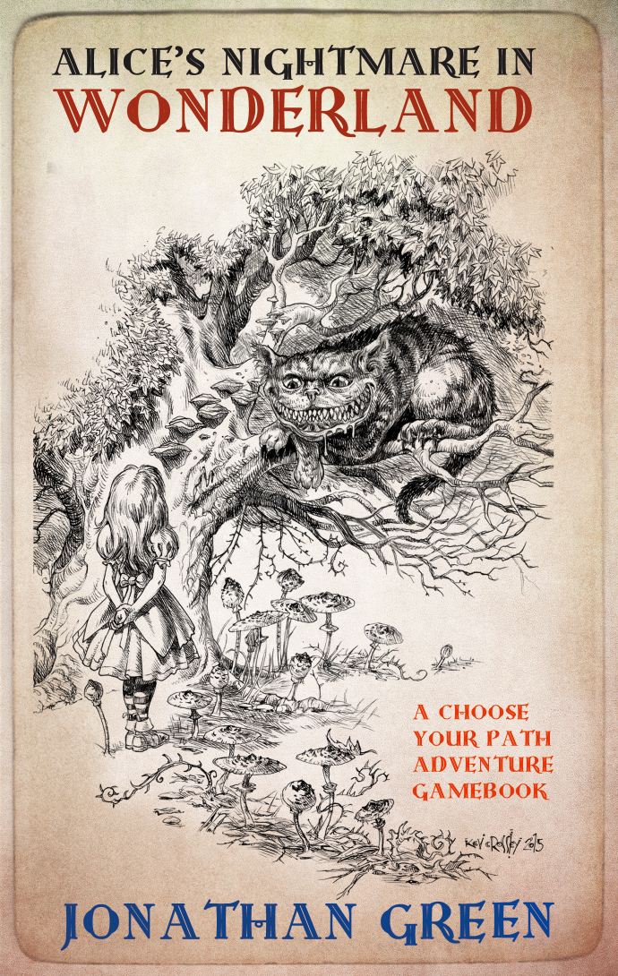 A nightmarish gamebook with a Steampunk twist inspired by 'Alice's Adventures in Wonderland' by Lewis Carroll, 150 years old this year.