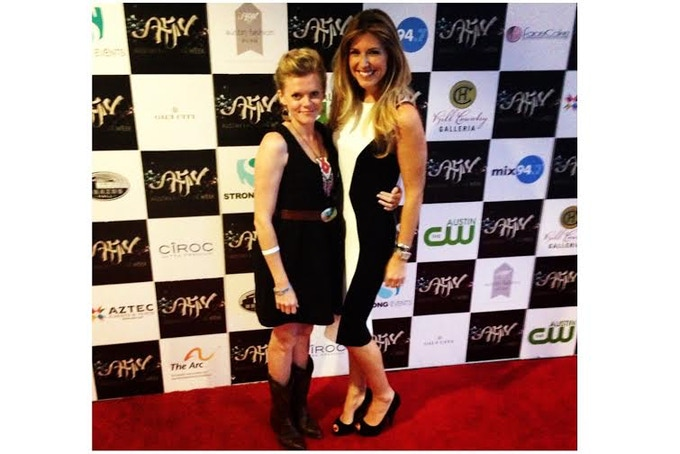 Co-Owners Sarah Davis (left) and Nicole Locke at The Austin Fashion Awards