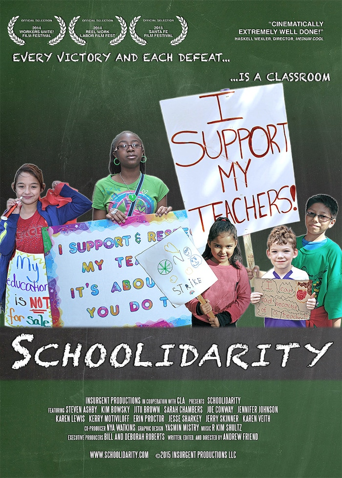 A film exploring the attacks on teachers & public education that have led to the most successful public-sector strike in living memory.