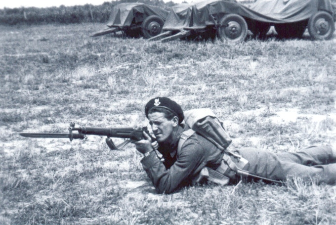 Canadian soldier, 1942