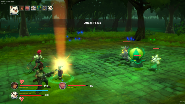 Ramoo Swamp Battle