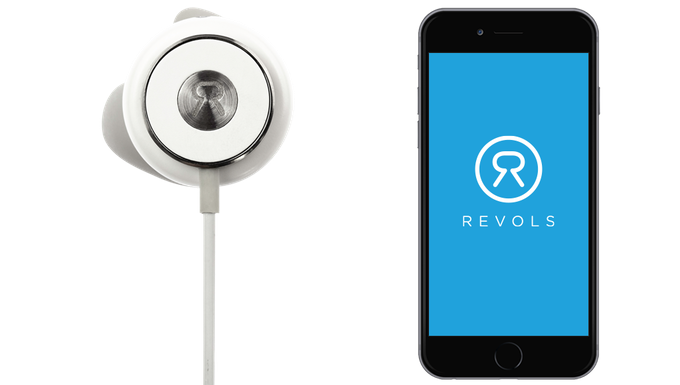 Revols - Premium Quick Custom-Fit Wireless Earphones by