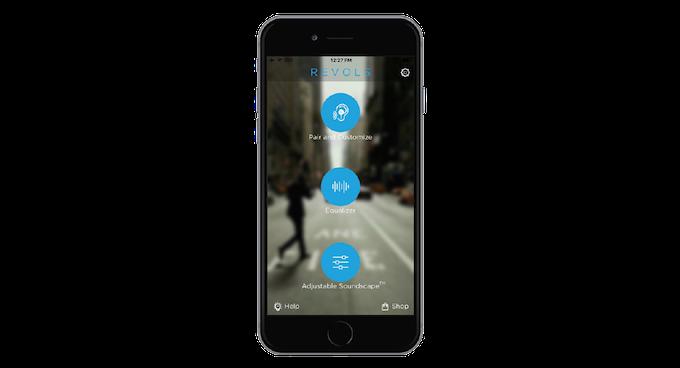 Revols app home screen