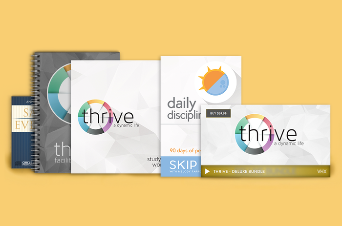 Thrive Study Series - Discover a life worth living by Lost
