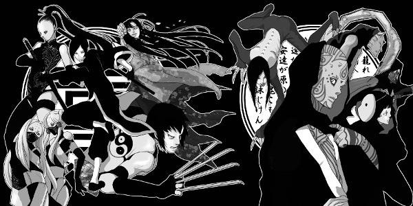 The Bloodline of Oni are sorcerers, immortals, vampires and otherworldly types who seek to awaken the Shinobigami