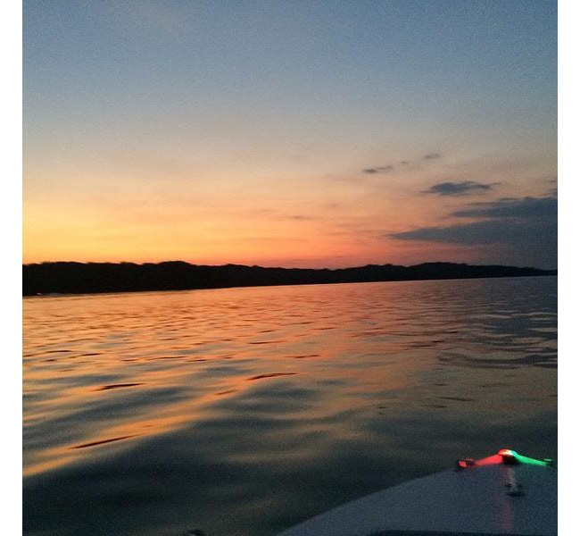 Sunset Cruise on Percy Priest Lake