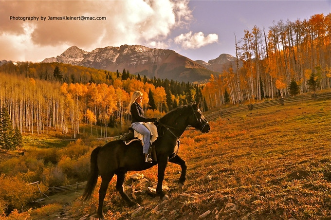 Riding Free in Colorado