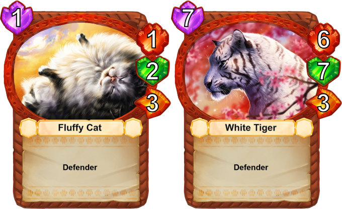 Defenders are very important! A single defender holds control of 3 fields around him, forcing enemy units on such fields to retreat or attack the defender!