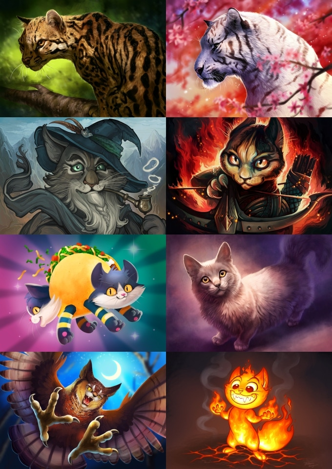 All these wallpapers will be available in Widescreen and HD up to 2880 x 1800!