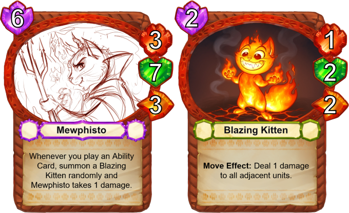 Mewphisto wants to cover the world in Blazing Kittens! With your support, we can make his dream come true!