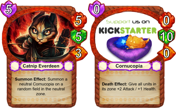 Catnip Everdeen is absolutely on fire! With the neutral Cornucopia that she spawns, she can really turn the tide of a game!