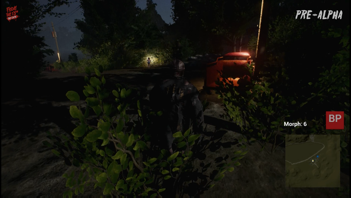 That flashlight isn't going to save you. Jason's behind you!