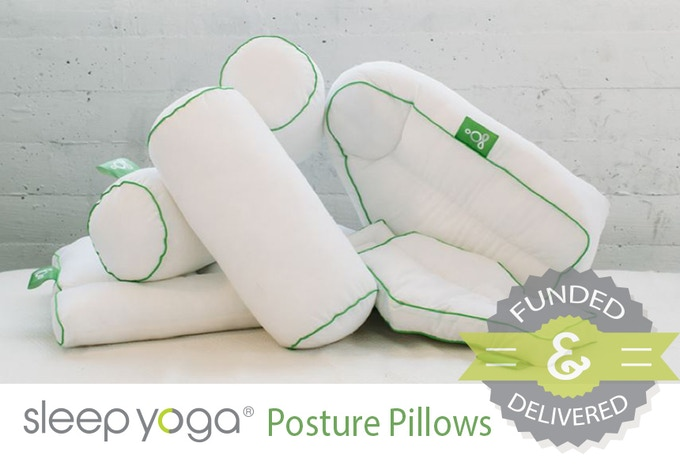 Click to go to Sleep Yoga® Posture Pillows Campaign