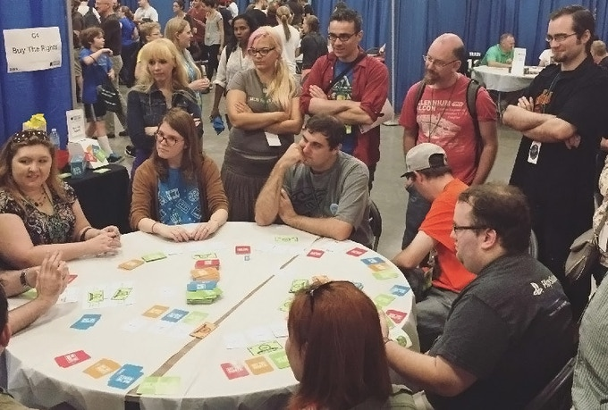 Playing Buy The Rights at Boston FIG