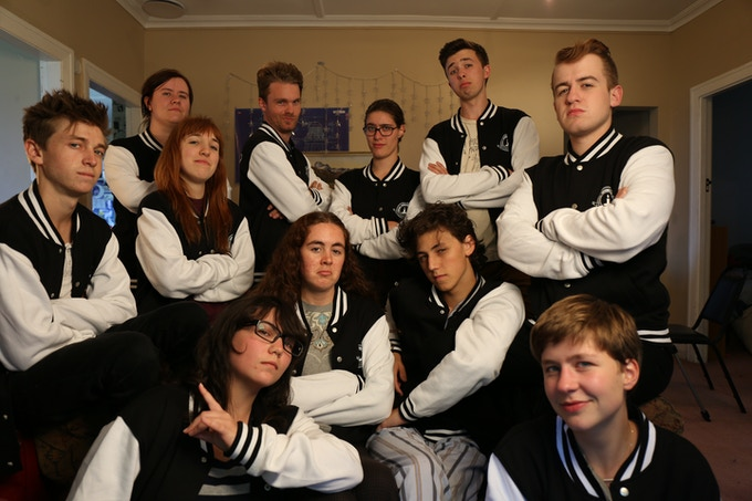 LLLETTERMAN Jackets feat. the LLL Cast/Crew