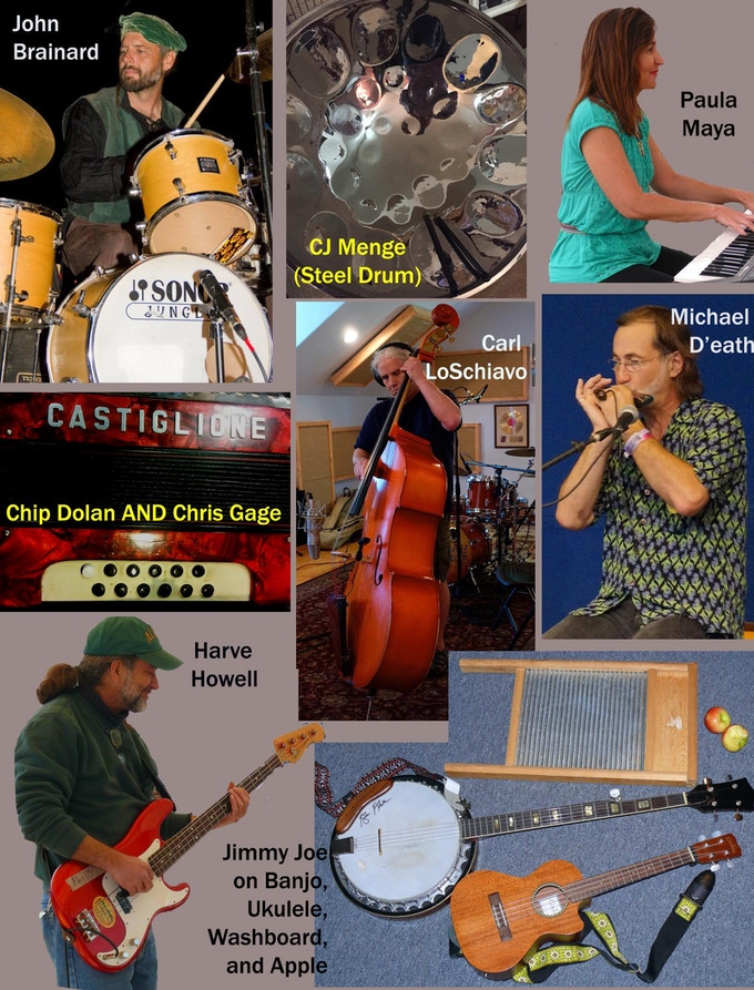 These are some of the great Austin players, and various instruments, on the album