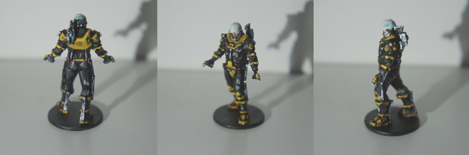 The Engineer, painted by Daemontail Miniatures