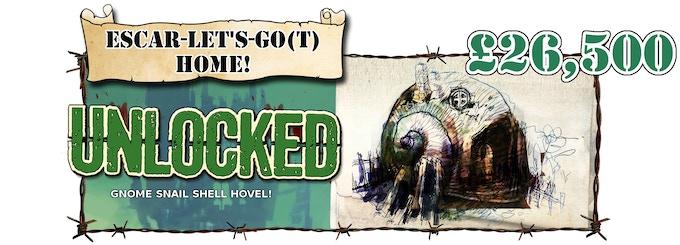 Gnome village unlocked!