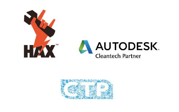 We are supported by the HAX hardware accelerator, the Autodesk Cleantech Partner program and CrossThePacific, our prototyping partner